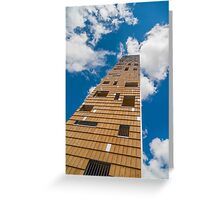 Tower in the clouds Greeting Card
