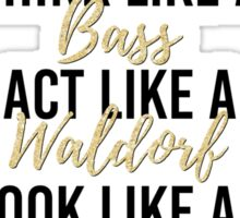 Live Like Gossip Girl 2 Sticker