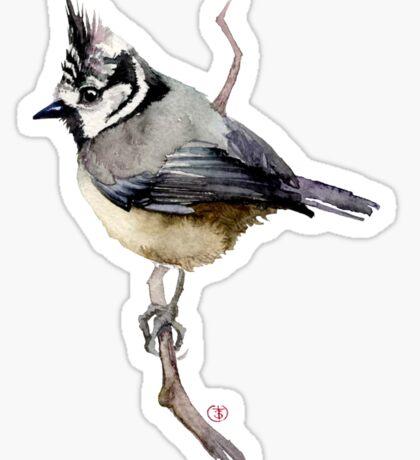 bird on branch Sticker