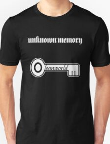 Leanworld × Unknown Memory White T-Shirt