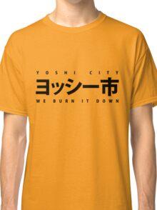 YOSHI市 Black Classic T-Shirt