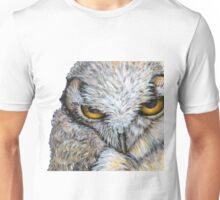 Every Hair on the Owl Unisex T-Shirt