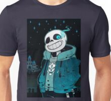 Sans's dark castle Unisex T-Shirt