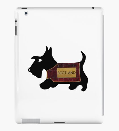 Commonwealth Games Opening Ceremony Scottie Dog 'Scotland' iPad Case/Skin