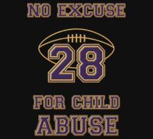 No Excuse for Child Abuse One Piece - Short Sleeve