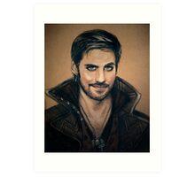 Captain Hook Art Print