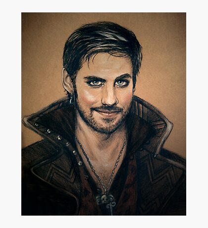 Captain Hook Photographic Print