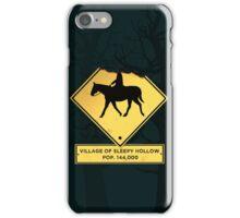 Headless Horseman Sign iPhone Case/Skin