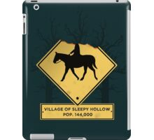 Headless Horseman Sign iPad Case/Skin