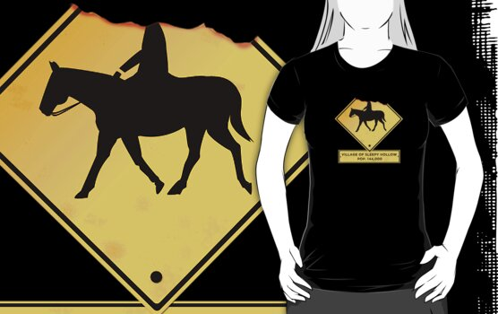 Headless Horseman Sign by Sarah  Mac