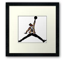 Fresh Prince Jordan Framed Print