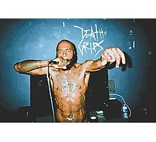 MC Ride (Death Grips) Vector Photographic Print