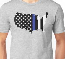 Thin Blue Line - America Unisex T-Shirt