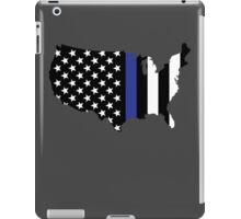 Thin Blue Line - America iPad Case/Skin