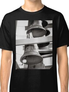 Church Bells - Black & White Classic T-Shirt