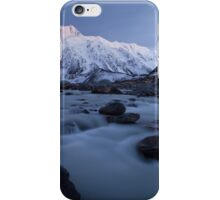 Winter in the Hooker Valley iPhone Case/Skin