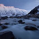 Winter in the Hooker Valley by Nick Skinner