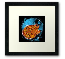 That's No Moon! Framed Print