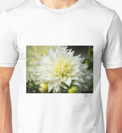 White Dahlia Unisex T-Shirt