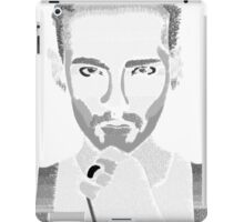 Bill Kaulitz; Tokio Hotel Lyrics iPad Case/Skin
