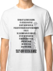Rocky Motivation Classic T-Shirt