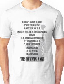 Rocky Motivation Unisex T-Shirt