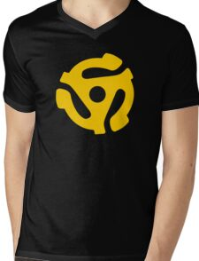 45 Record Hub Mens V-Neck T-Shirt
