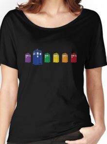 The Tardis Spectrum Women's Relaxed Fit T-Shirt