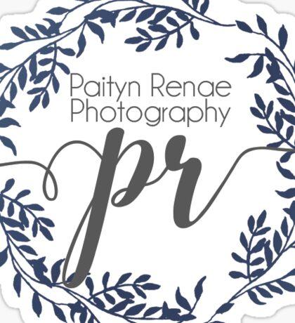 Paityn Renae Photography Sticker
