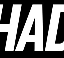 Shade 3 (Black) Sticker