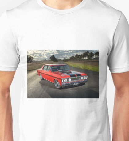 Red Ford XY GT Replica Unisex T-Shirt