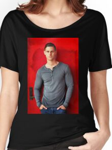 Portrait Of A Man Women's Relaxed Fit T-Shirt