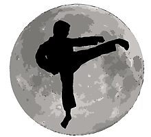 Karate Kick Moon by kwg2200