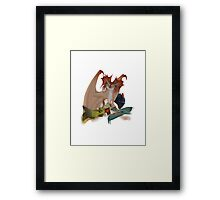 Valka and the dragons Framed Print