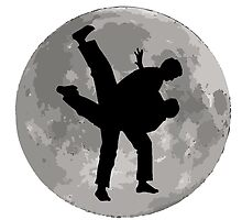 Karate Moon by kwg2200
