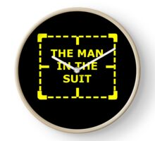 The Man in the Suit Clock