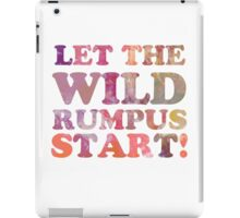 Where The Wild Things Are Quote 2 iPad Case/Skin