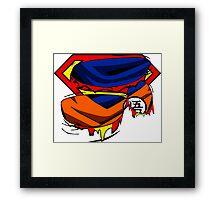 Super Who? Goku  Framed Print