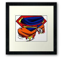 Super Who? Goku  Framed Print