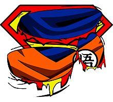 Super Who? Goku  Photographic Print