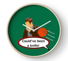 Could've Been a Knife! Clock