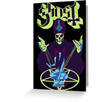 Ghost - Papa Emeritus Greeting Card