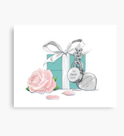 Tiffany Rose Canvas Print