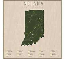 Indiana Parks Photographic Print