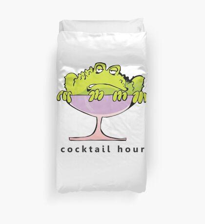 cocktail hour Duvet Cover