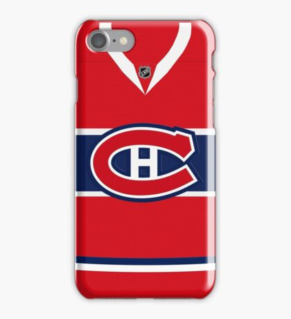 Montreal Jersey iPhone Case/Skin