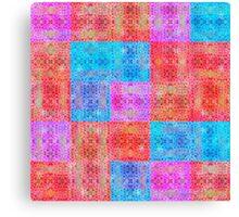 d29: psych tetris Canvas Print