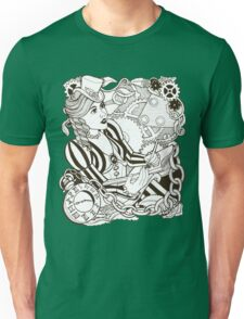 I Dream in Cogs and Roses Unisex T-Shirt