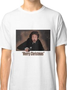 """""""Merry Christmas love from Hans"""" Classic T-Shirt"""