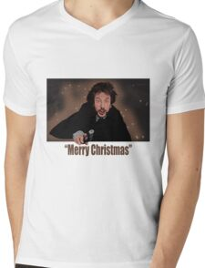 """Merry Christmas love from Hans"" Mens V-Neck T-Shirt"